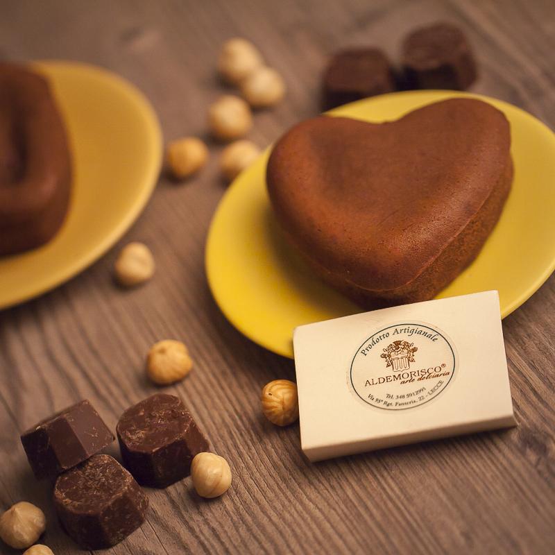 Cuore di Delirio al Cioccolato
